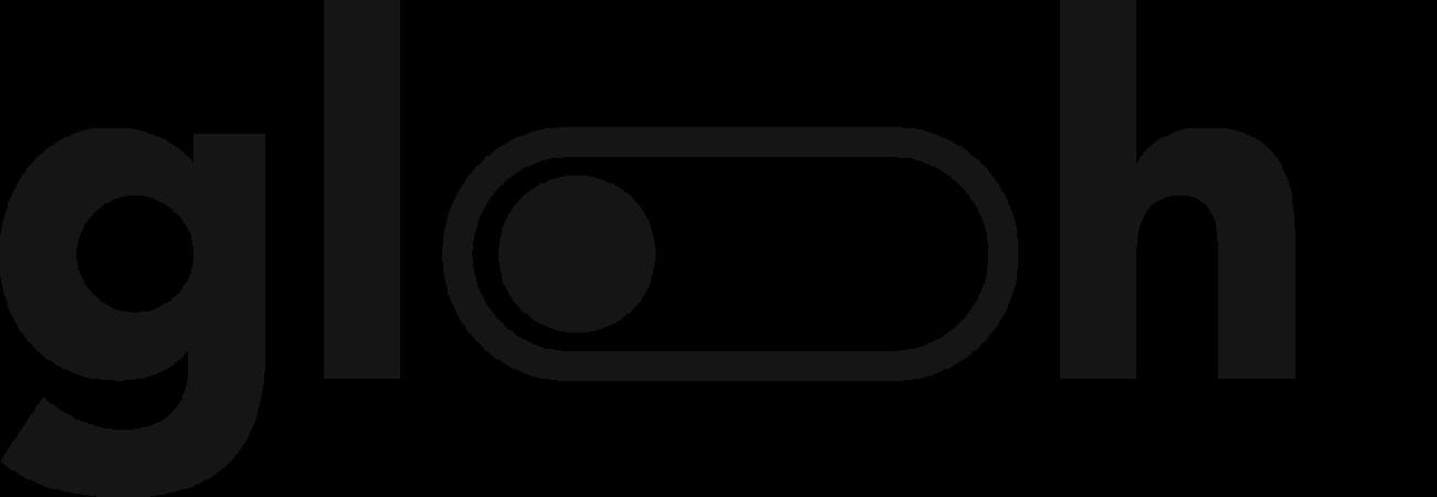 Glooh logo black 2x